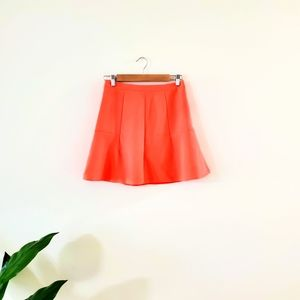 J.crew coral skirt